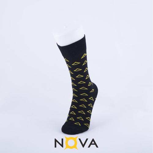 جوراب مردانه نووا طرح مثلث