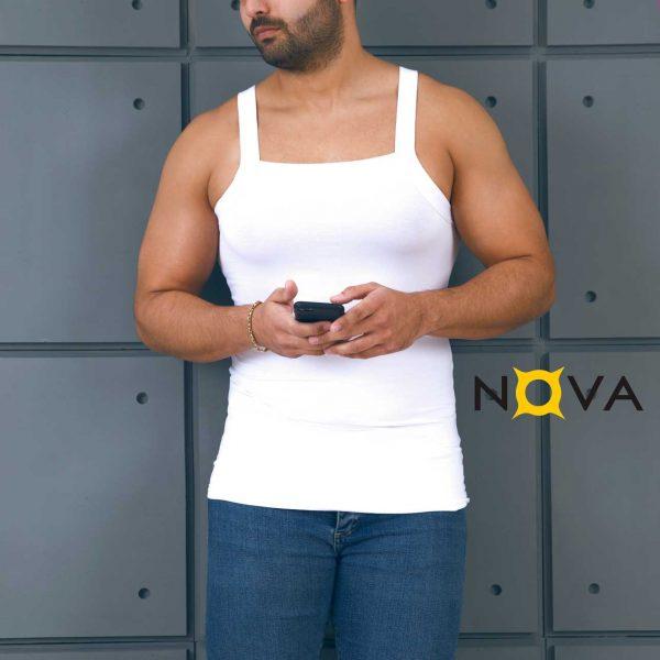 زیرپوش مردانه نووا طرح خشتی
