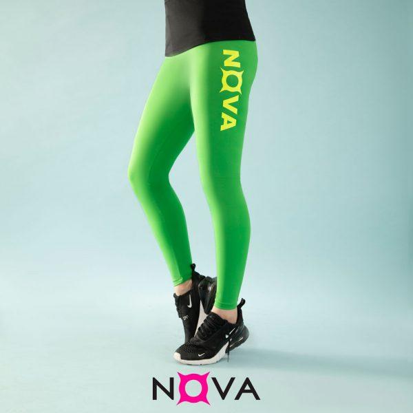 لگینگ ورزشی زنانه رنگ سبز