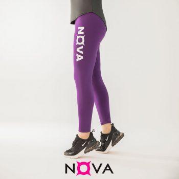 لگینگ ورزشی زنانه رنگ بنفش