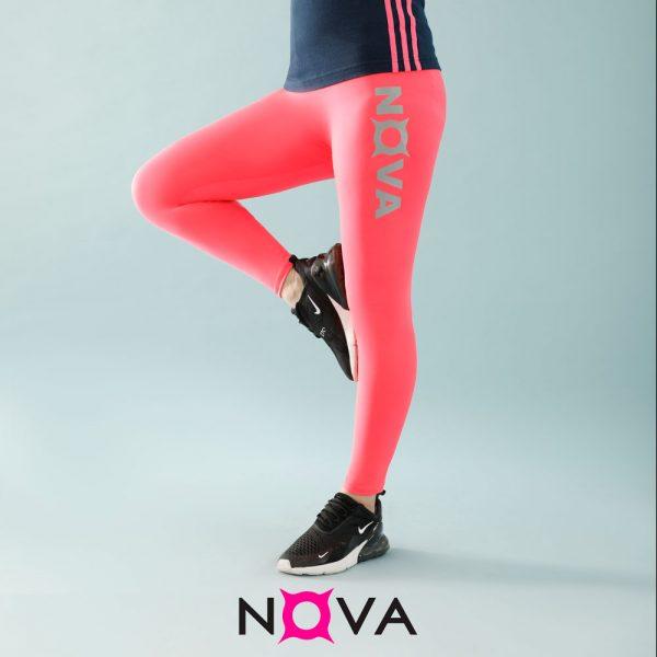 لگینگ ورزشی زنانه رنگ صورتی