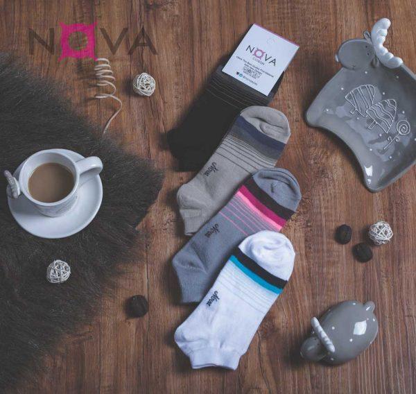 جوراب زنانه مچی طرح طیف
