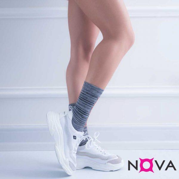 جوراب زنانه ساقدار طرح اسپرت