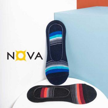 جوراب مردانه کالجی طرح طیف