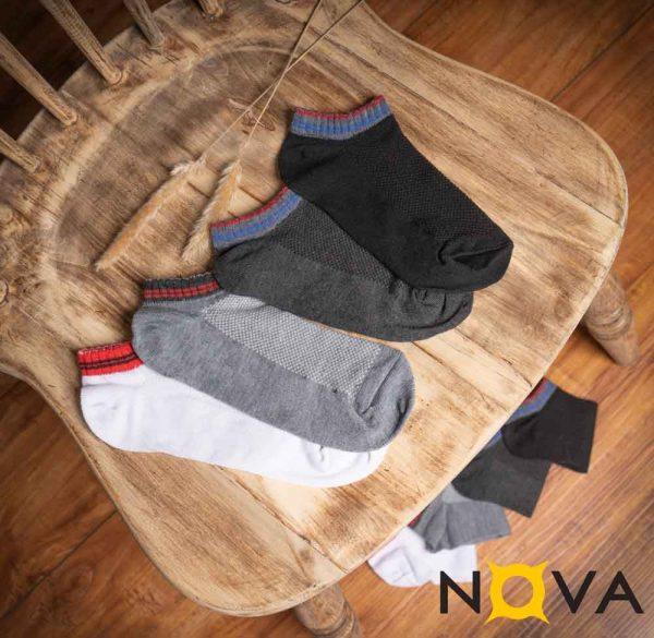 جوراب مردانه مچی نووا طرح مشبک